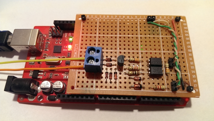 OpenTherm Arduino Mega Shield
