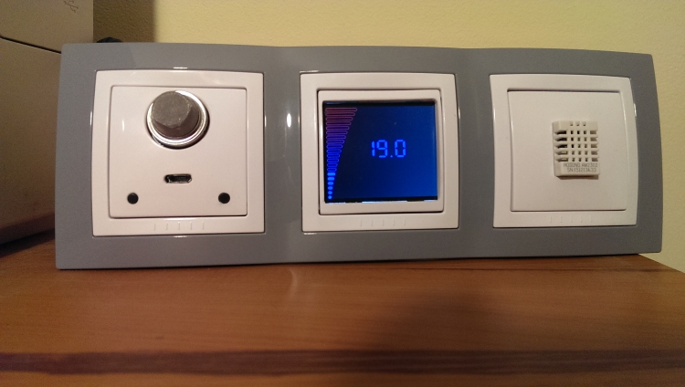 Bedroom Climate Control Temperature Set