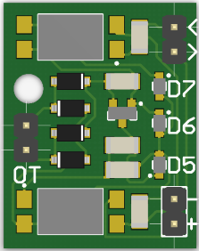 Arduino OpenThrem Adapter PCB