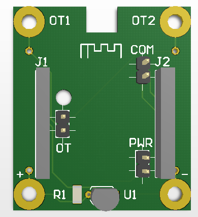 OpenThrem Shield PCB