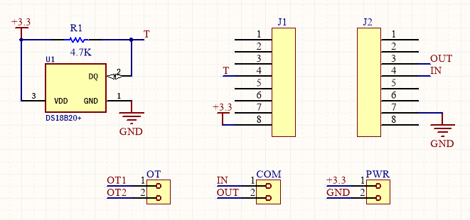 OpenThrem Shield Schematic