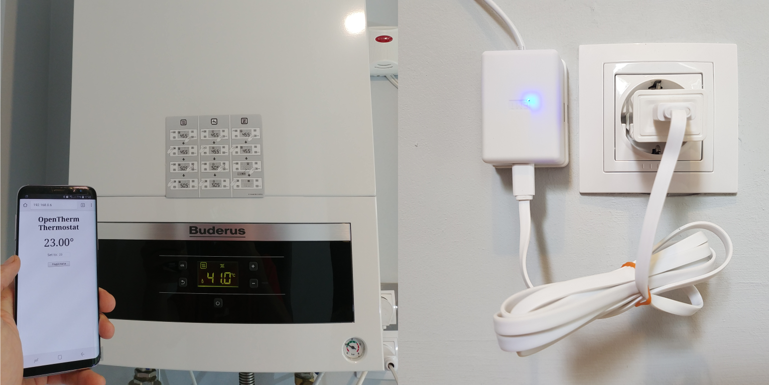 OpenTherm Thermostat - Hobby Projects